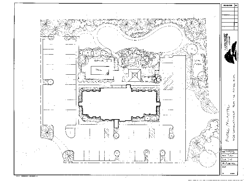 Durango Small Residential Landscape Designer Drawings of Lanscape Plan