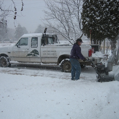 Snow Removal Picture