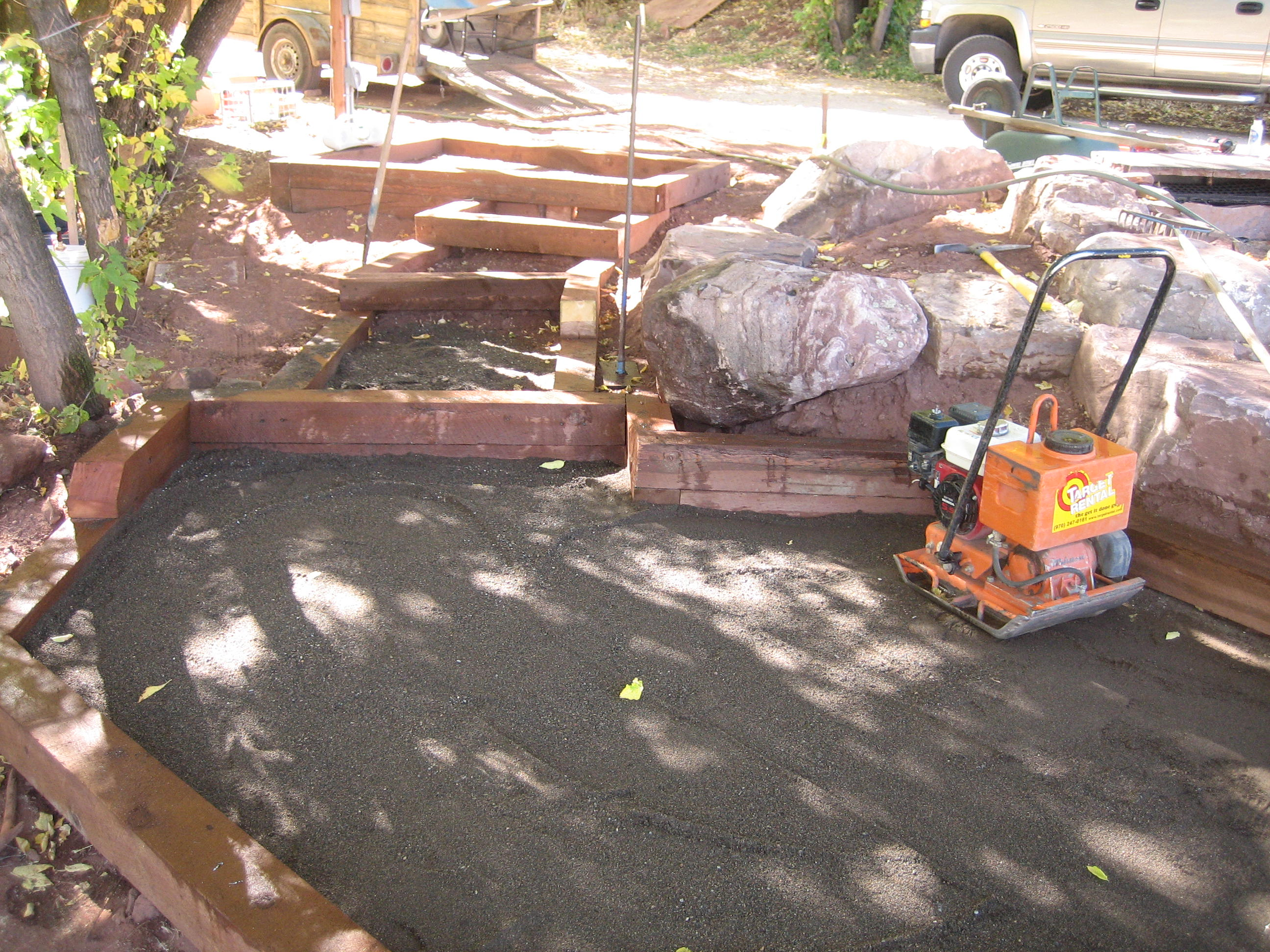 Building A Flagstone Patio By David Hart